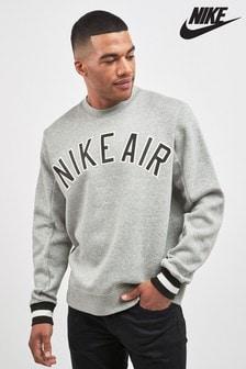 Nike Air Grey Fleece Crew
