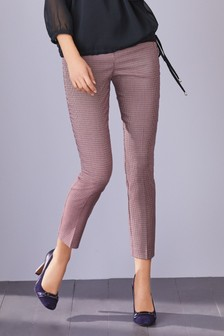 Textured Skinny Trousers