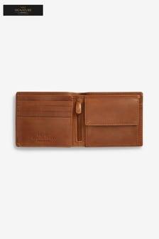 Signature Brieftasche aus italienischem Leder mit großem Fassungsvermögen
