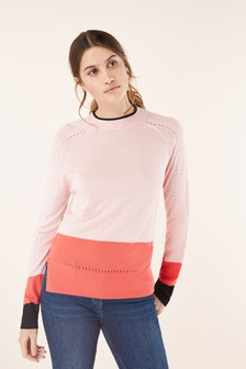 Ripple Sleeve Sweater