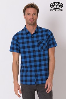 Animal Blue Rake Short Sleeve Shirt