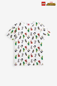 All Over Print Christmas LEGO® T-Shirt (4-11yrs)