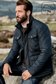 4 Pocket Quilted Jacket