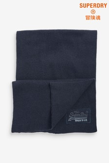 Superdry Navy Scarf