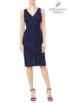 Adrianna Papell Petite Vintage Lace Sheath Dress