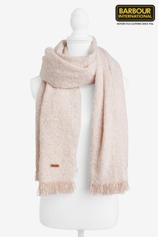 Barbour® International Nude Textured Scarf