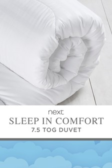 7.5 Tog Sleep In Comfort Duvet