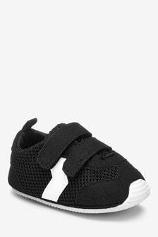 Double Strap Pram Shoes (0-24mths)