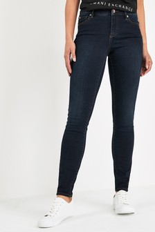Armani Exchange Blue Rinse Jeans