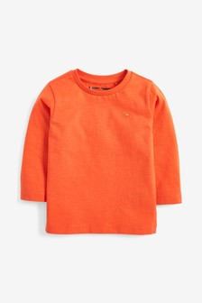 Long Sleeve Plain T-Shirt (3mths-7yrs)