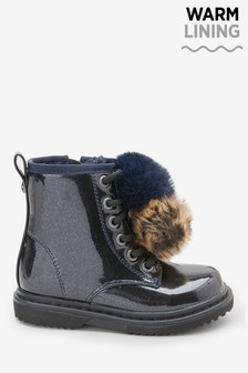 Girls Blue Boots | Blue Ankle Boots