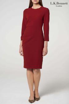 L.K.Bennett Red Hollie Dress