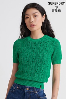 Superdry Bella Pointelle Knit Jumper