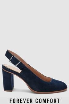 Forever Comfort® Block Heel Slingbacks
