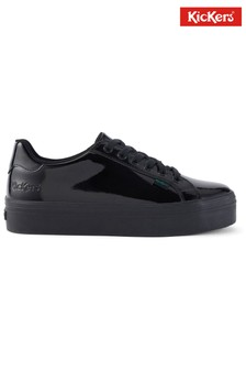 Kickers Tovni Stack Patent Leather Shoes