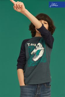 Joules Green Reeve Glow In The Dark T-Shirt