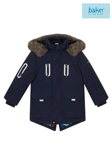 baker by Ted Baker Navy/Blue Parka