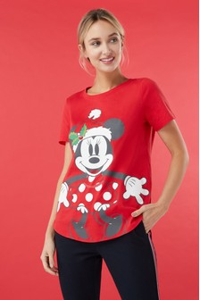 חולצת Minnie Mouse™ לחג המולד