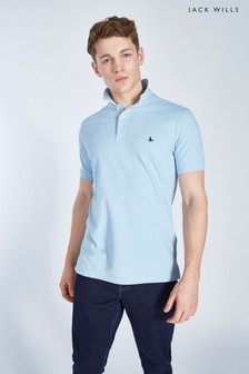 Jack Wills Bainlow Garment Dye Polo