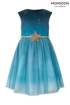 Monsoon Starry Night Dress