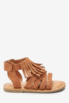 Fringe Sandals (Younger)