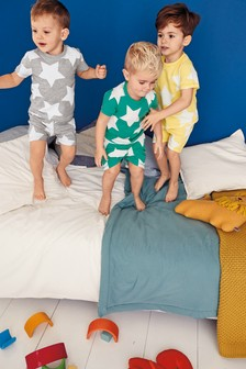 Star Pyjamas Three Pack (9mths-8yrs)