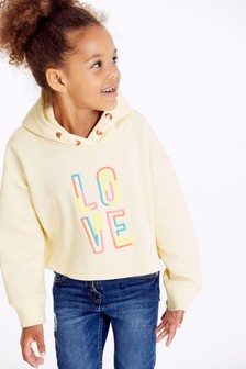 Love Crop Hoody (3-16yrs)