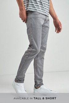 80bf2e63efb0 Buy Men's jeans Skinny Skinny Grey Grey Jeans from the Next UK ...