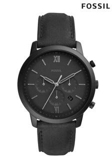 Fossil™ Black Strap Watch