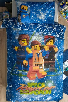 LEGO® Movie Duvet Cover and Pillowcase Set