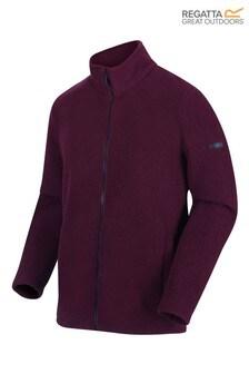 Regatta Purple Garrian Full Zip Fleece