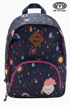 Animal Navy Patterned 11 Ltr Sorority Backpack