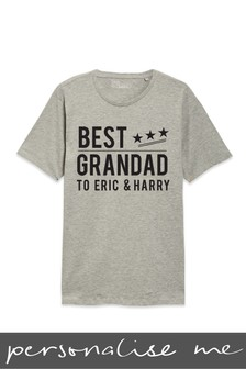 Personalised Best Grandad T-Shirt
