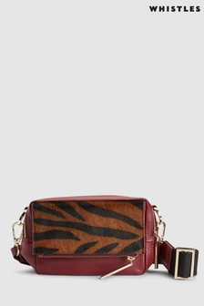 Whistles Bibi Tiger Cross Body Bag