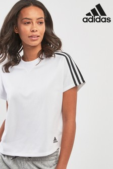 adidas White Attitude Tee