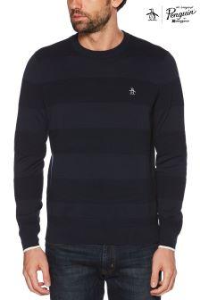 Original Penguin® Dark Sapphire Crew Sweater