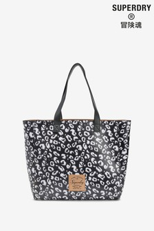 Superdry Tote mit Leopardenmuster