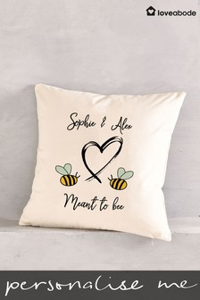Personalised Meant To Bee Cushion