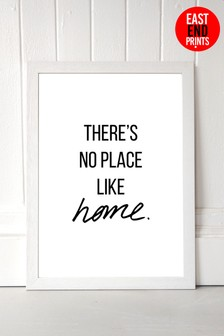 No Place Like Home by Native State Framed Print