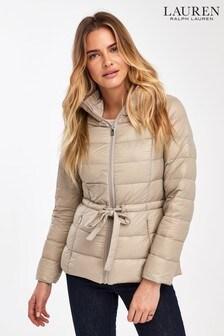 Lauren Ralph Lauren® Nude Packaway Luxe Padded Jacket