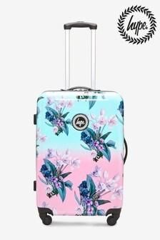 Hype. Medium Floral Print Suitcase