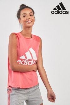 adidas Pink Sport ID Tank