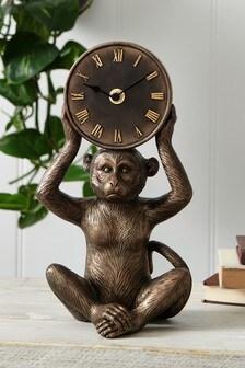 Monkey Mantle Clock