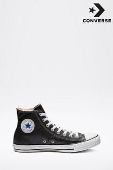 Zapatillas altas de cuero de Converse