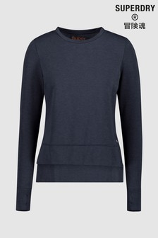 Superdry Navy Sports Jumper