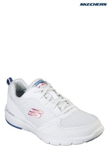 Skechers® White Flex Advantage 3.0 Trainer