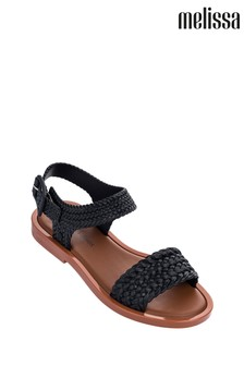 Melissa Black Braid Sandal