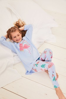 Flamingo Legging Pyjamas (3-16yrs)