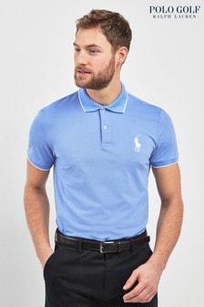 Polo Golf by Ralph Lauren Polo-Shirt mit Zierstreifen