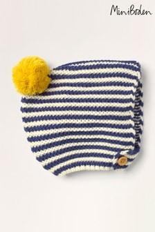 Boden Ivory Knitted Bonnet